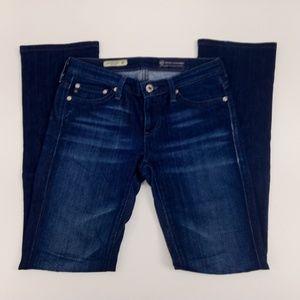 AG Adriano Goldschmied Jeans Sz 25 the Ballad Slim